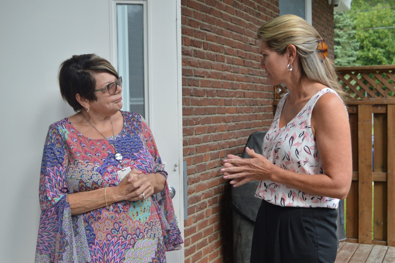 Associate Minister visits Maison Baldwin House
