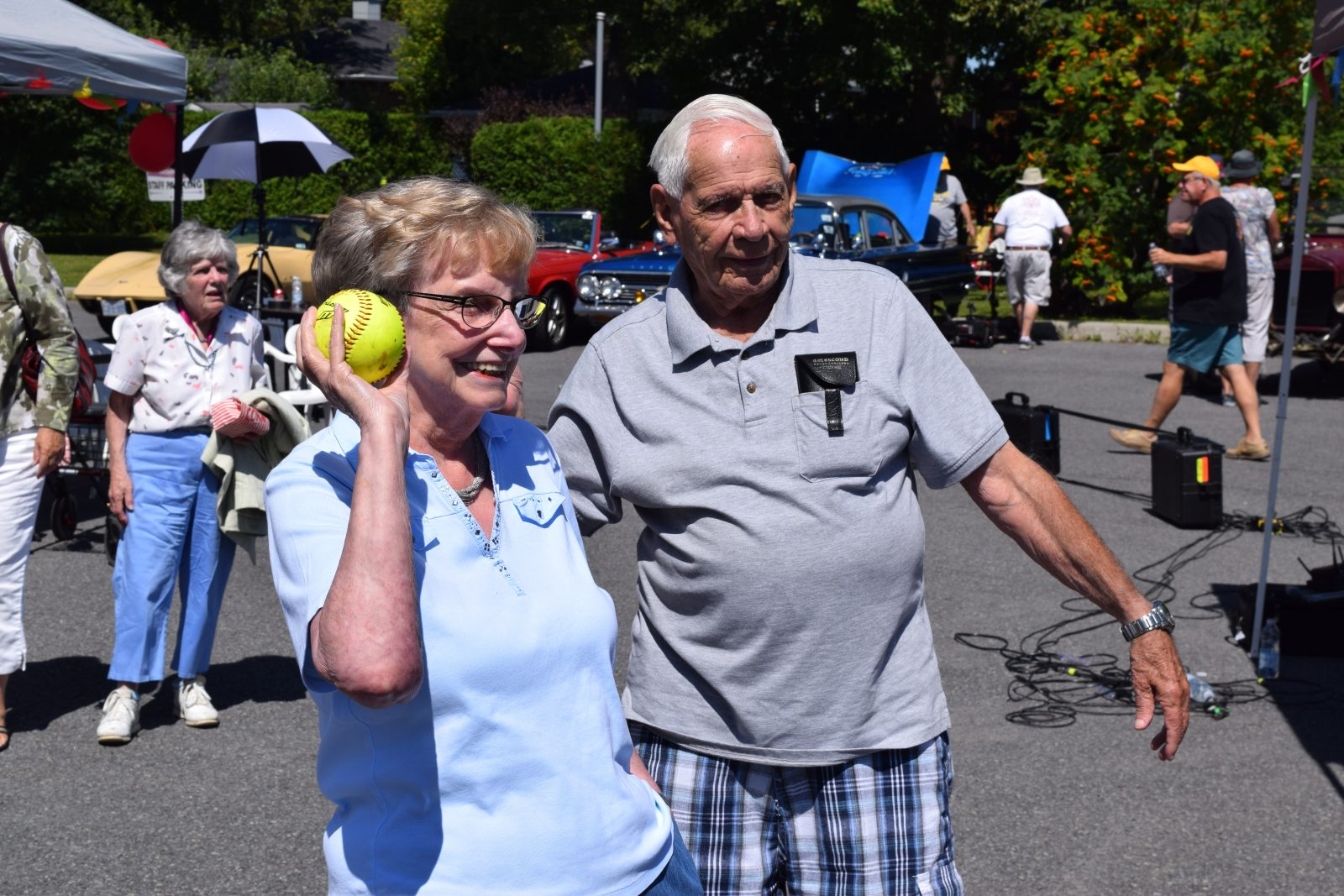 Summer fun at McConnell Manor Carnival Day