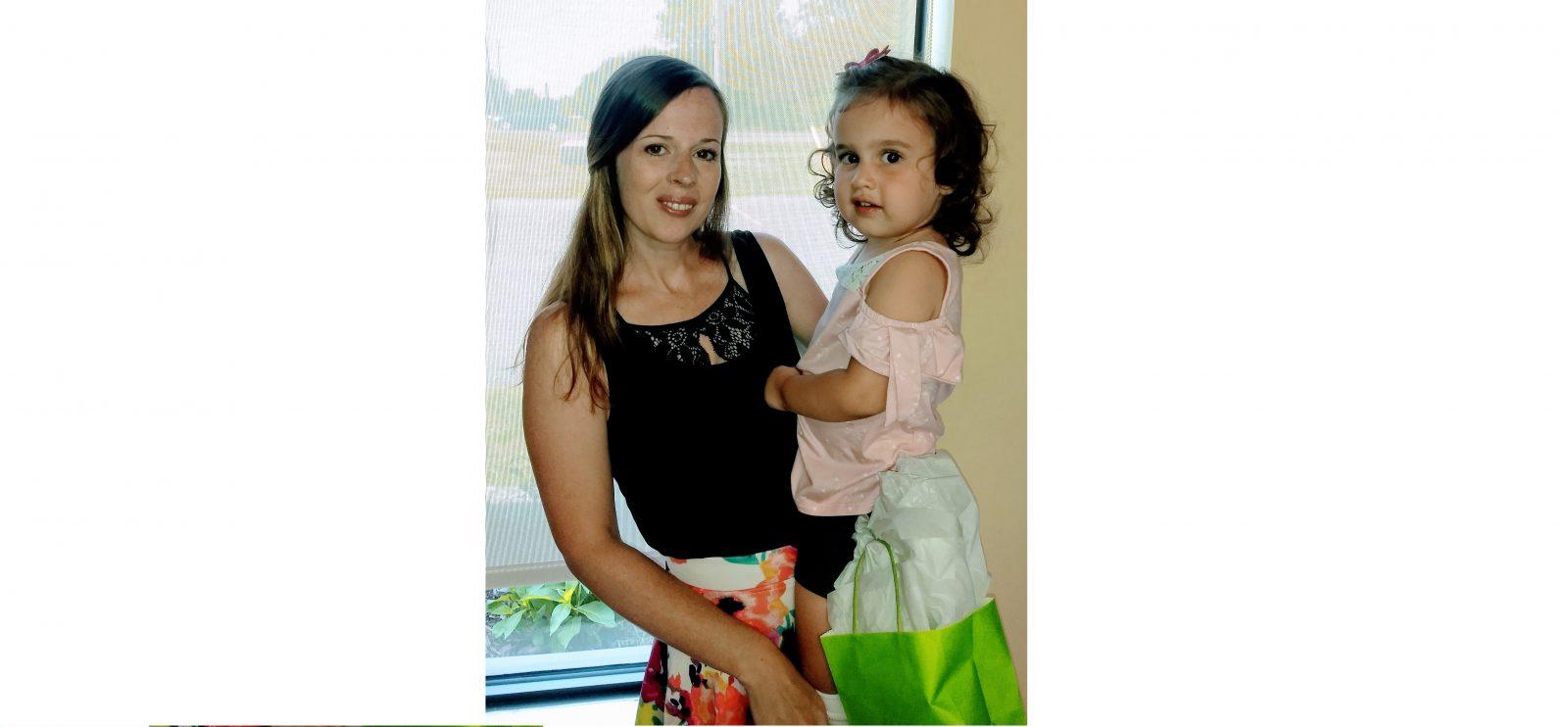 Rachel's Kids help Hayley