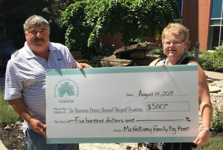 WDMH thanks McGillivray family for 15 years of philanthropy