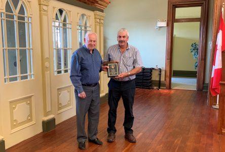 McEwan recognized for Police Board service