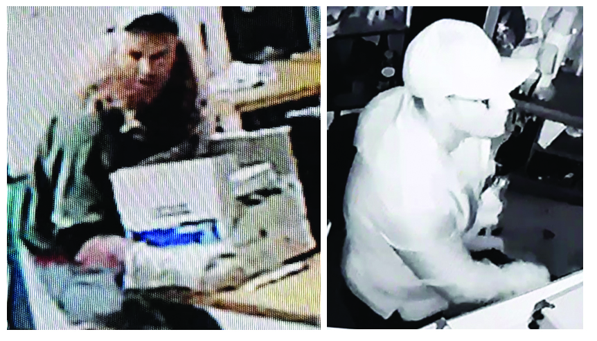 Police searching for two suspects in break and enter