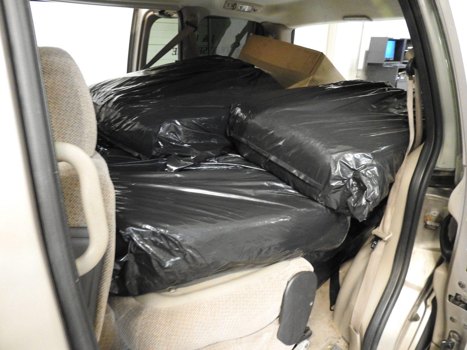 CRTF seize 12 bags of tobacco, dozens of cigarettes