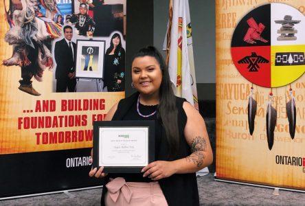 Akwesasne student wins OPG award