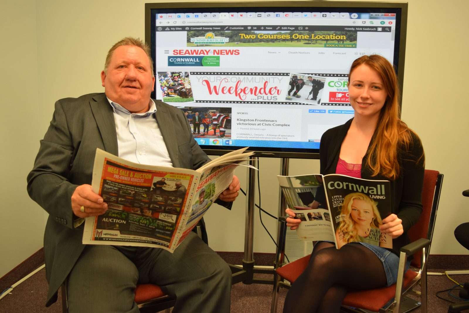 Seaway News celebrates 34 years