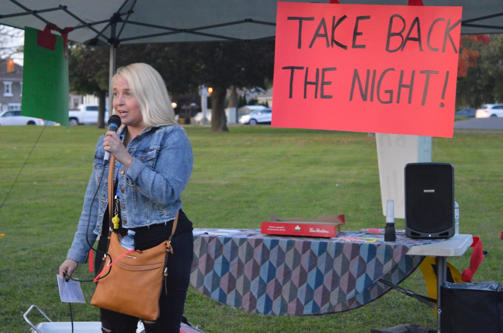 Powerful stories shared at Take Back the Night