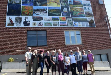 Mural commemorates Alexandria's 200th birthday