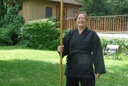 Ninjutsu teaching accessible self-defense