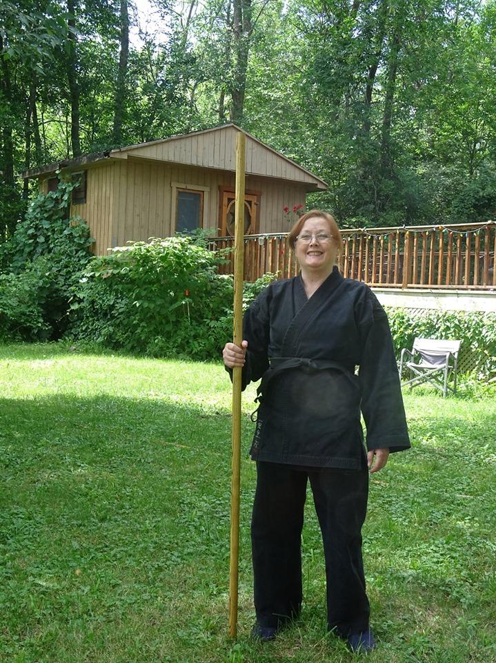 Ninjutsu teaching accessible self-defense
