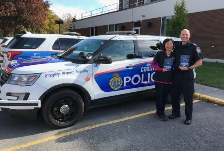 Cornwall Police officer inspires local author