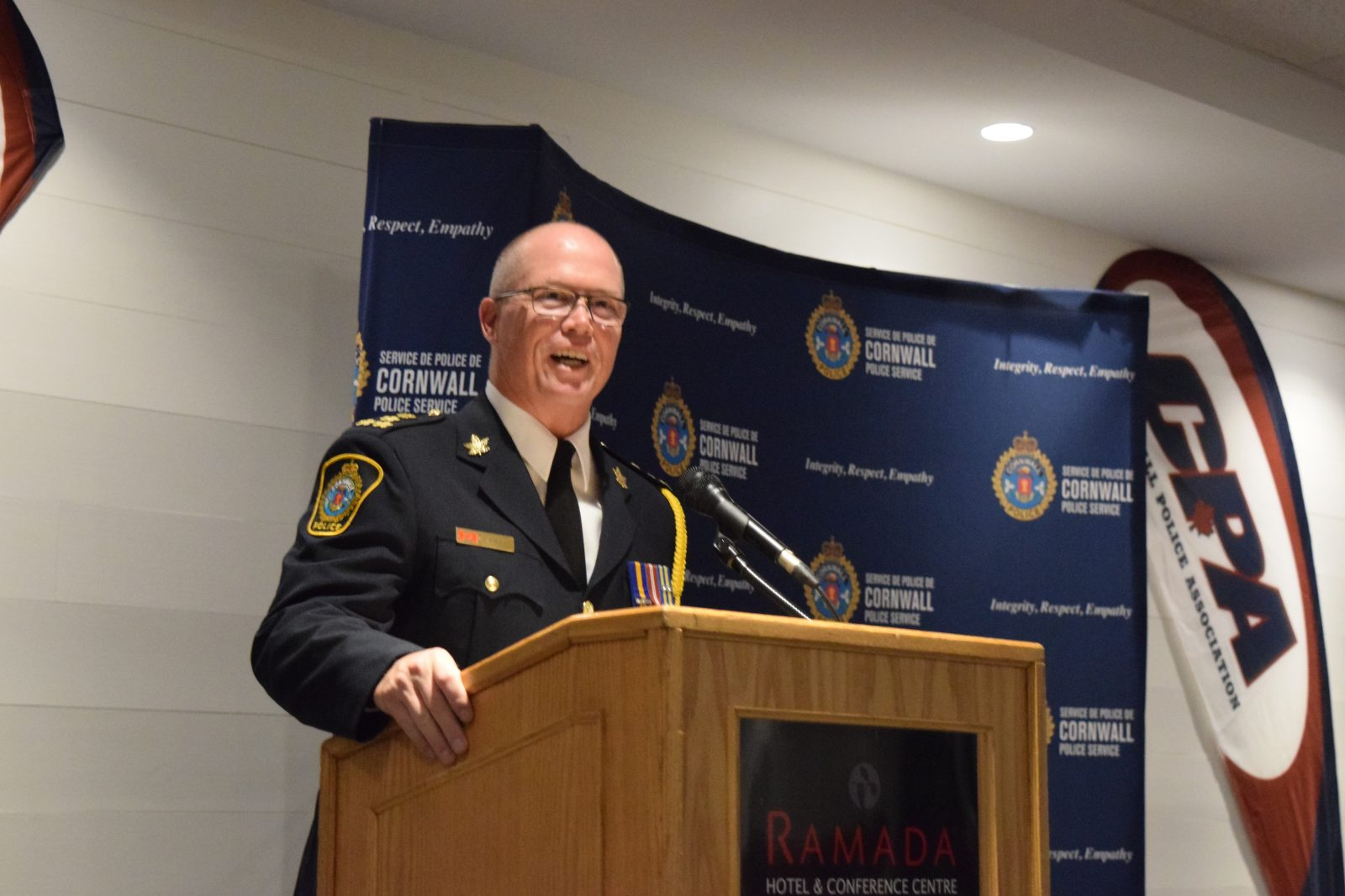 Recognizing service at 25th annual police awards