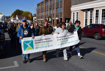 Cornwall marches for Mental Health Awareness