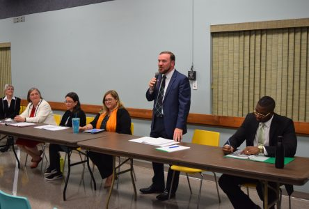 Candidates promise high speed internet, climate change plans in Martintown debate