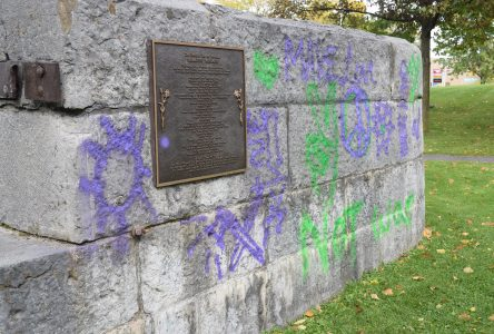 Cornwall workers memorial vandalized