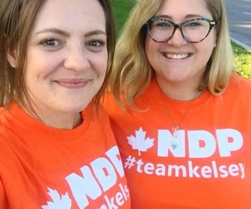 Young locals active on federal campaign trail