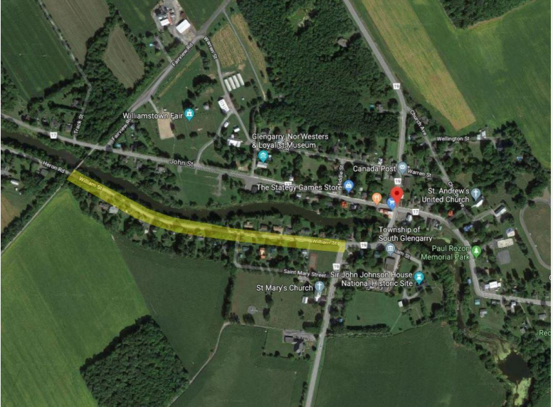 South Glengarry approves $1.3 million Williamstown roadwork project