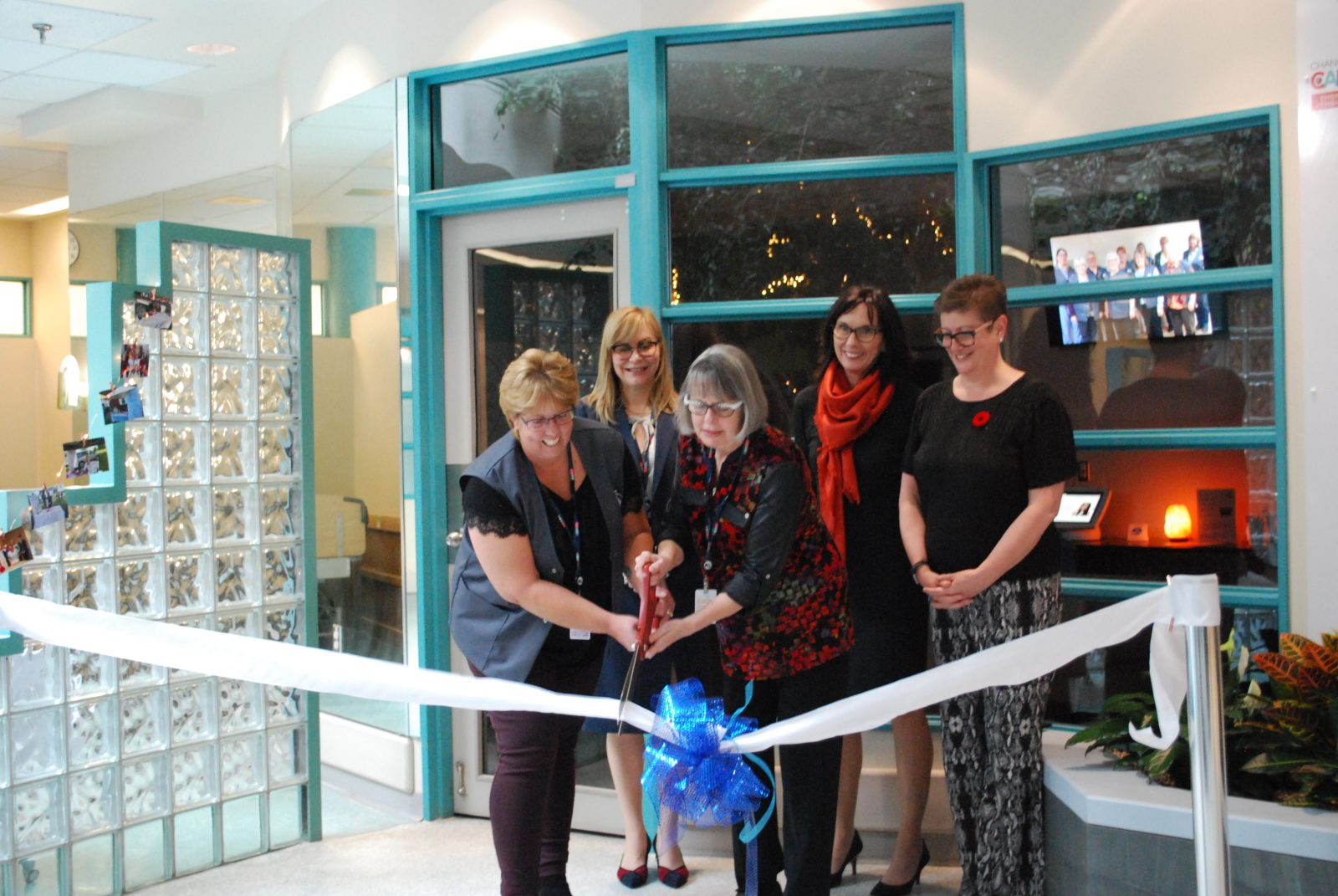 New centre for family caregivers opens at CCH