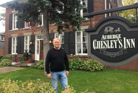 Chesley's Inn wins bike friendly award