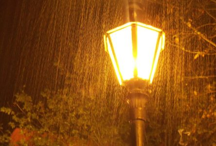 Rainfall Warning for Cornwall and area