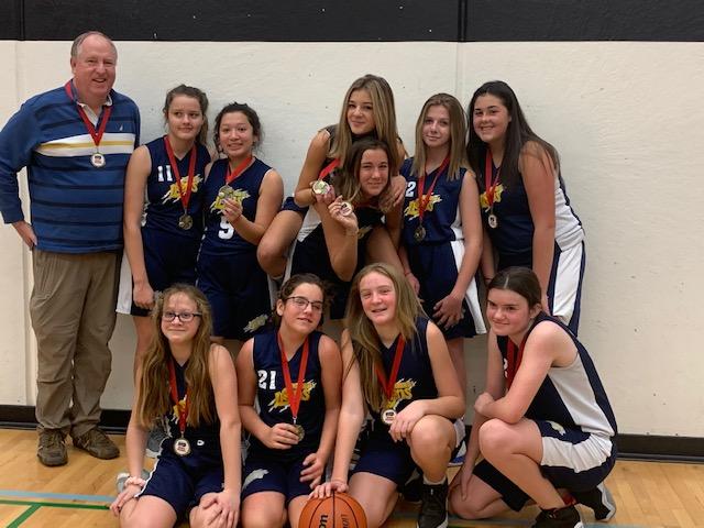 Cornwall Lions Bantam Girls Take Gold in Belleville