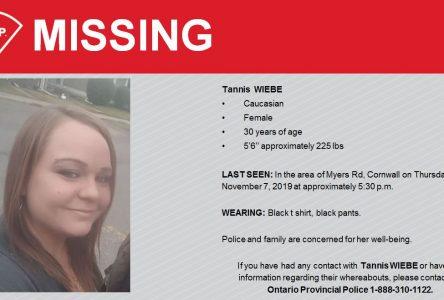 Missing woman found deceased