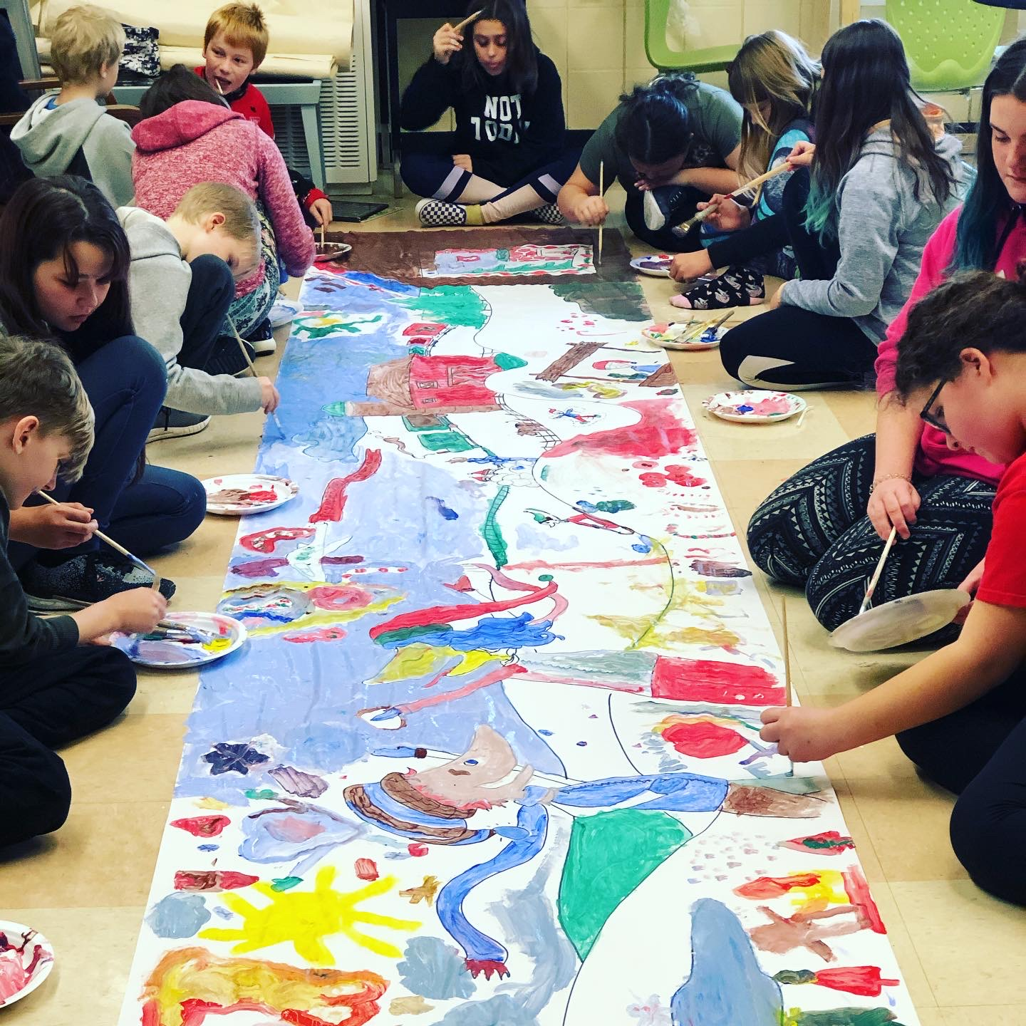 Local elementary school students support CTC