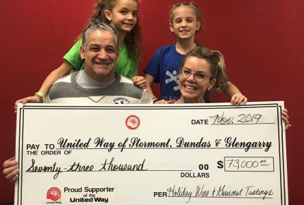 United Way raises $73,000 in one night