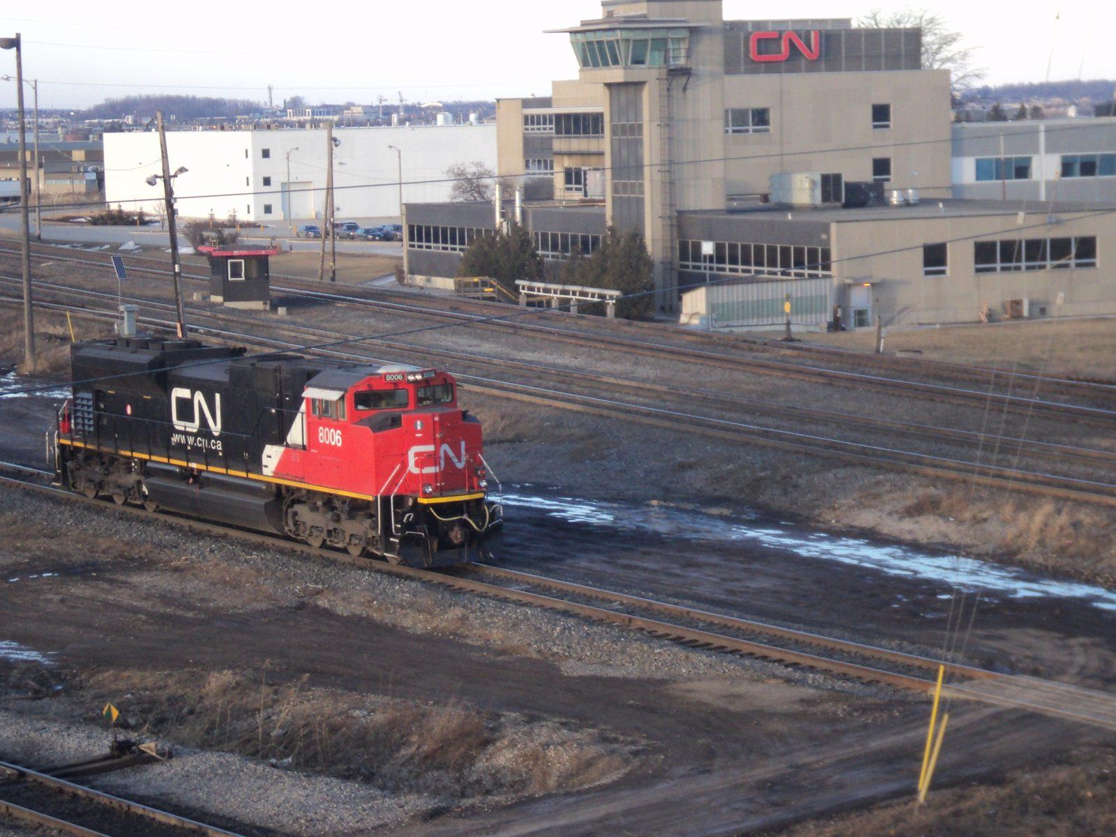 CN Rail strike over