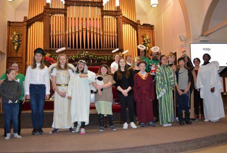 Christmas pageant at St. John's Presbyterian Church