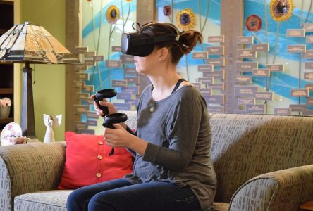 VR bringing comfort and connection to Hospice