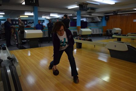 Taking to the lanes for Tim Horton's Bowl for Kids Sake