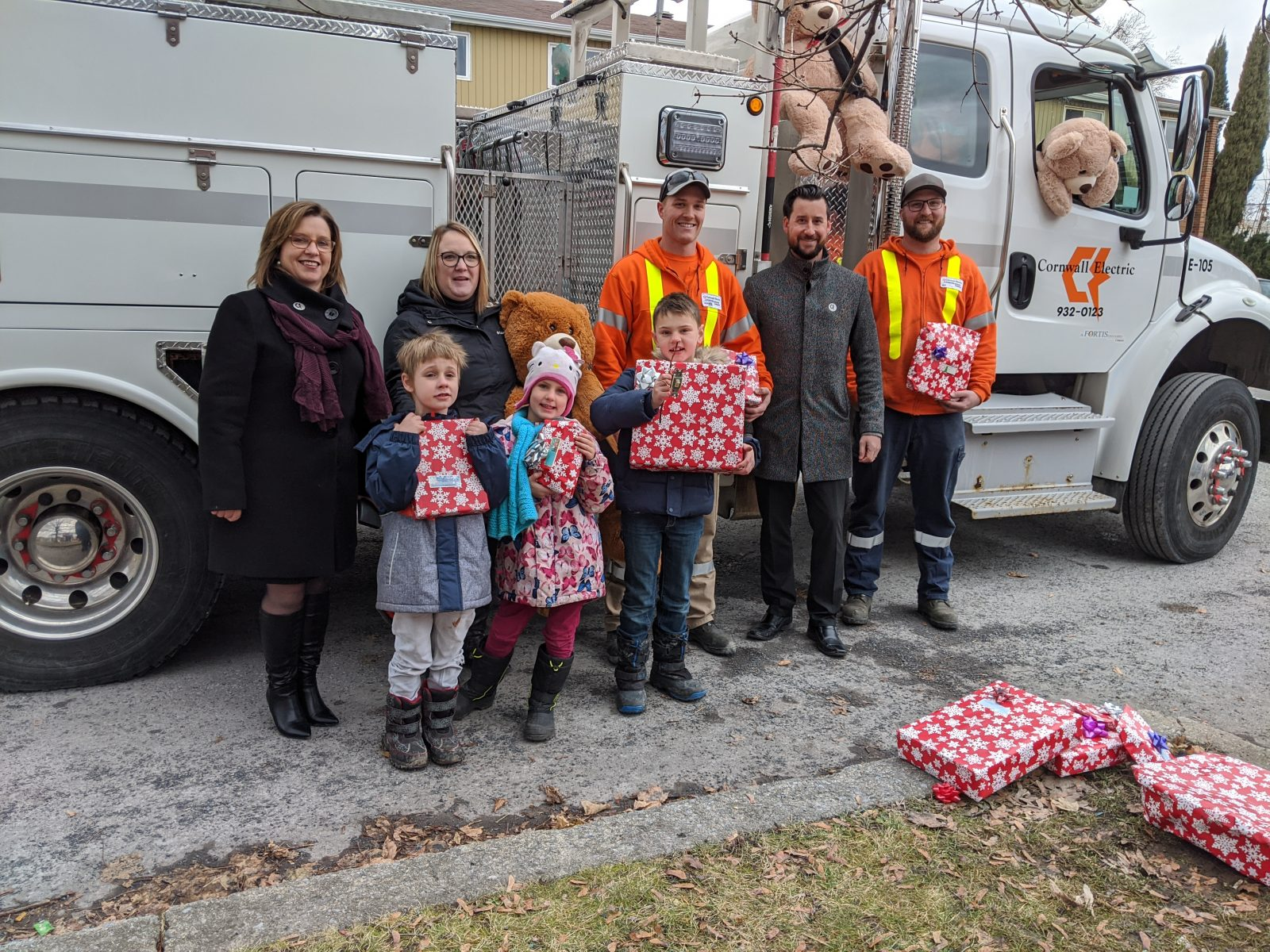 Rachel's Kids and Cornwall Electric powered by the Christmas spirit