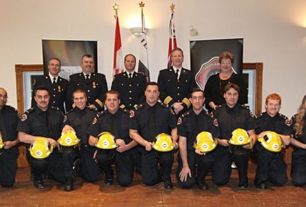North Glengarry recognizes firefighters' dedication