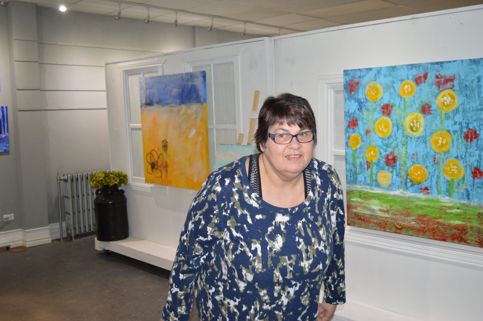 Labelle holds first art show