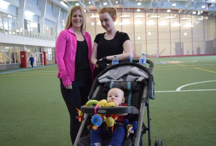 New moms and babies staying fit