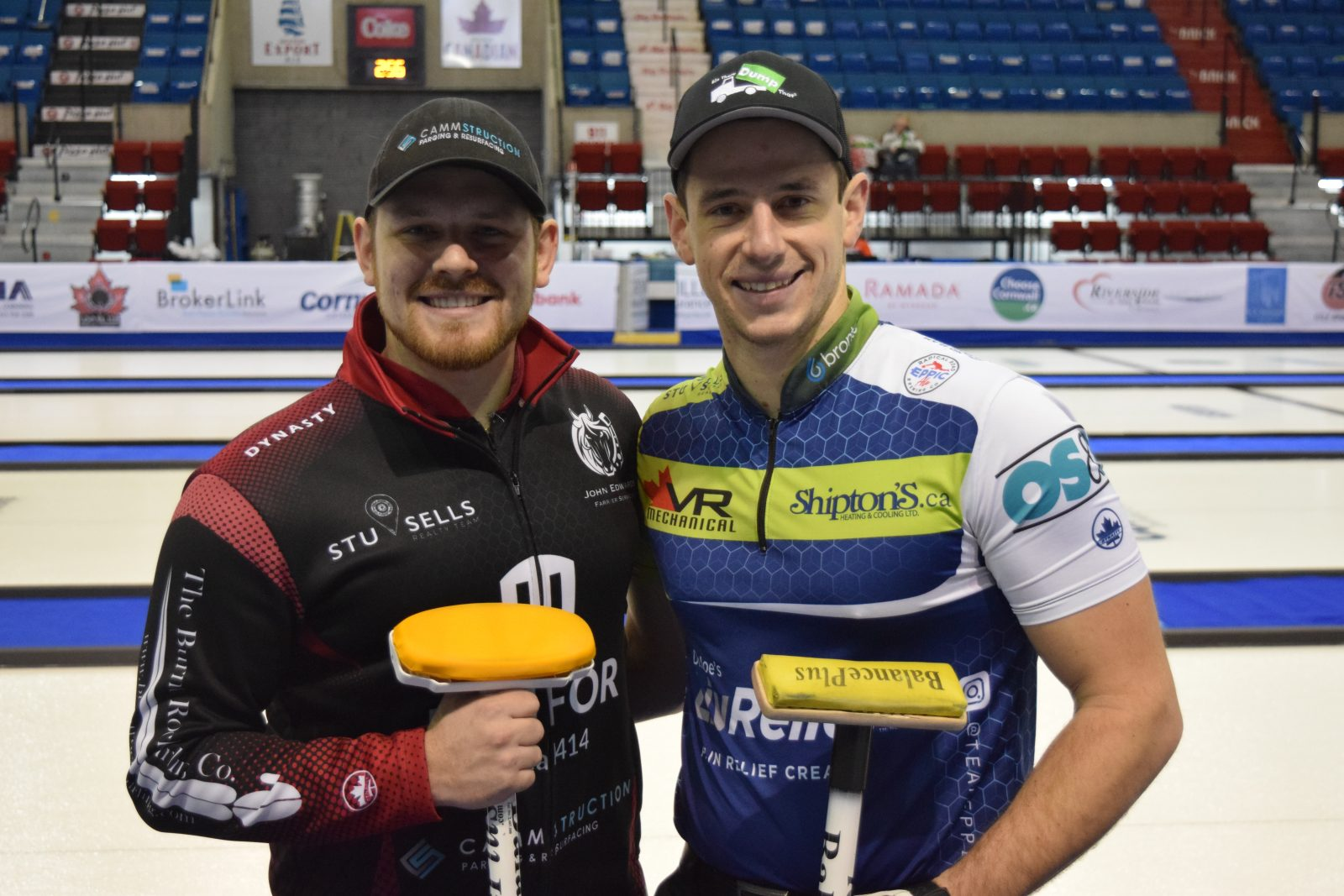 Camm brothers face off in Cornwall