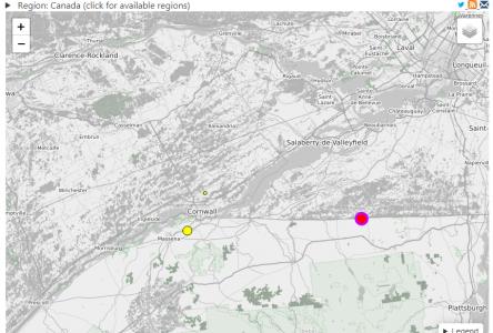 West Quebec earthquake felt in Cornwall