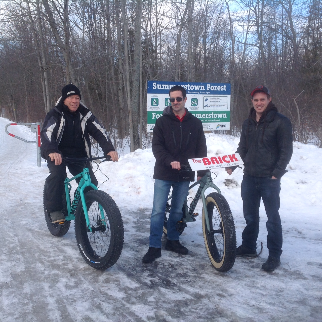 Fat bikes all the rage at Summerstown Trails