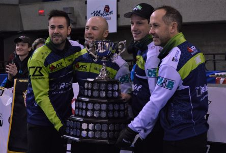 Cornwall's Camm helps take trophy at Ontario Curling Championships