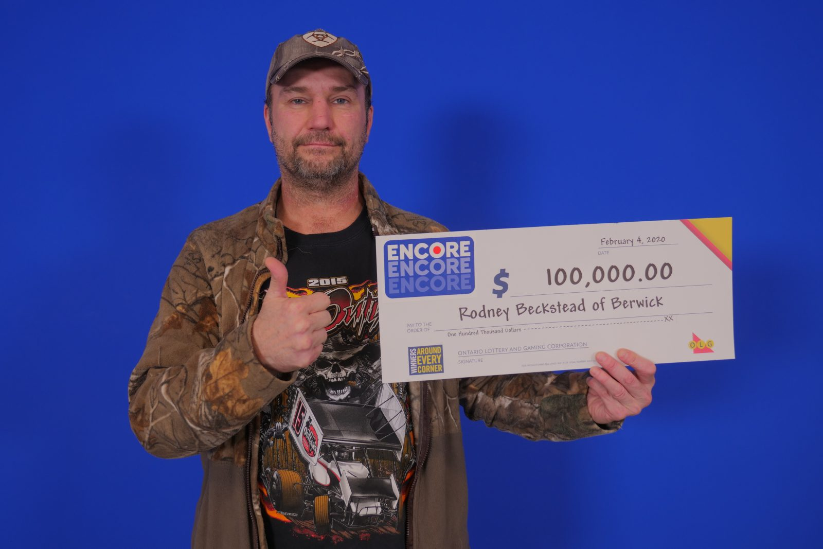 North Stormont resident wins $100,000 with ENCORE