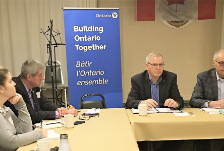 McDonell talks rural growth with Agriculture Ministry