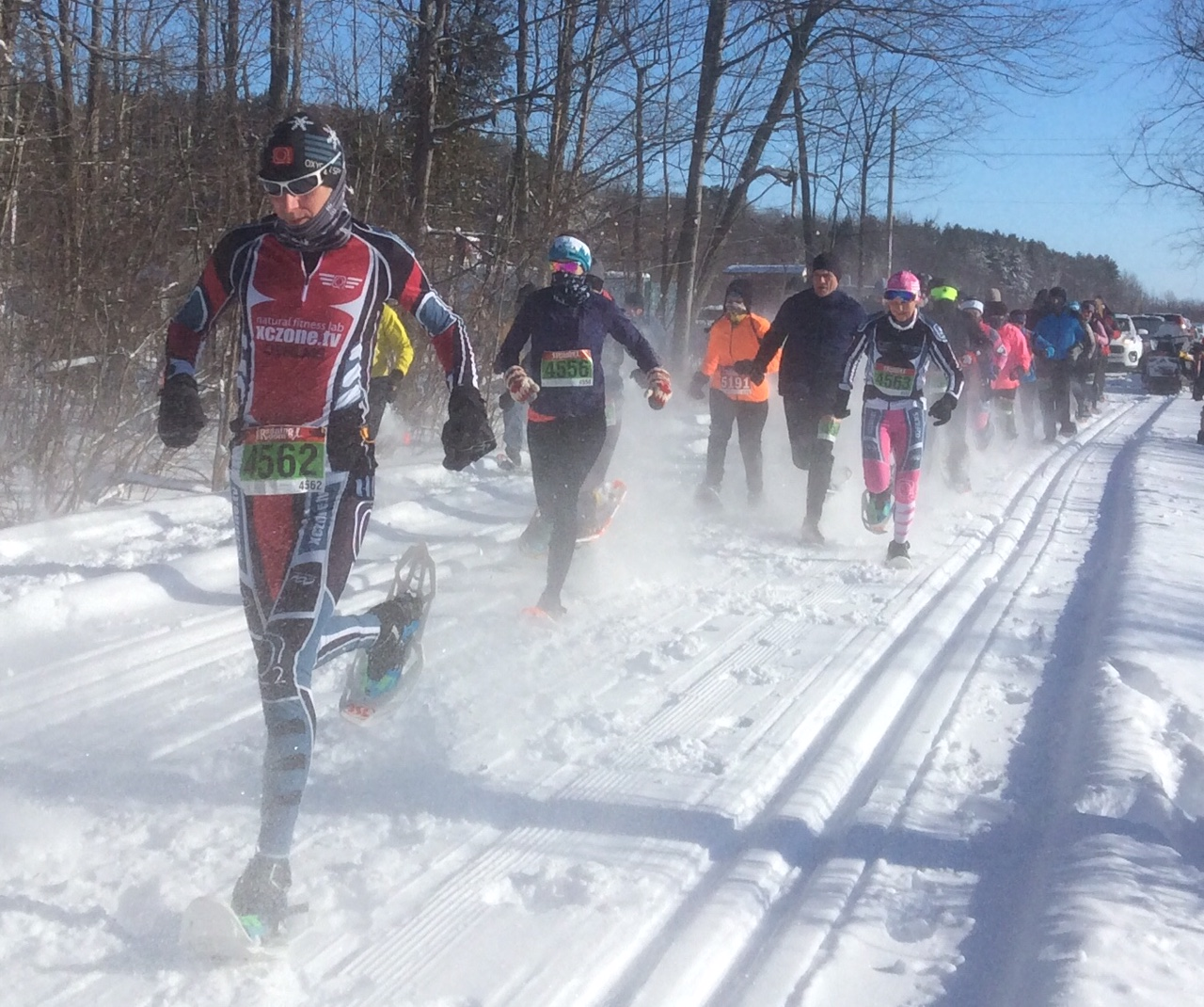 Summerstown snowshoe race sees flurry of fun
