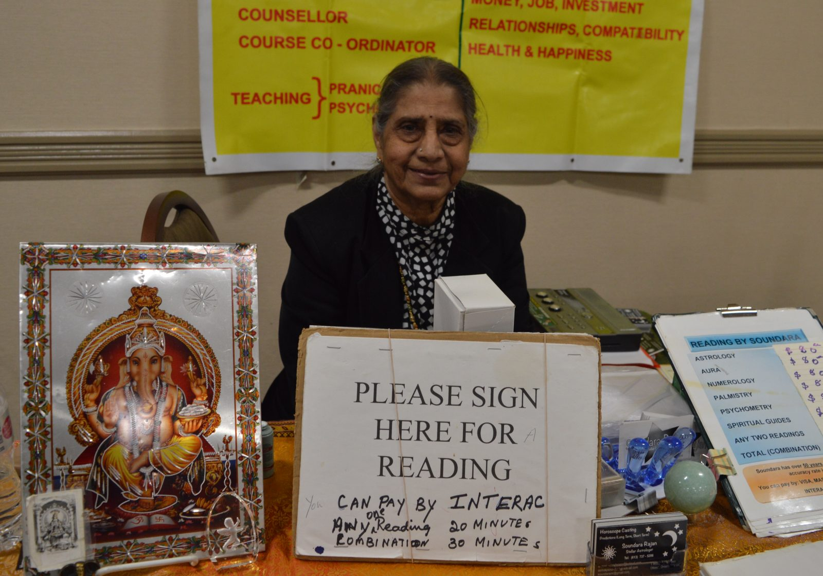 Psychic Fair sees good fortunes in Cornwall