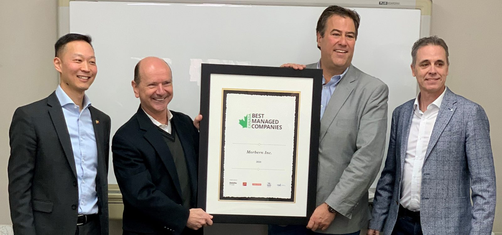 Morbern named one of Canada's best managed companies second year running