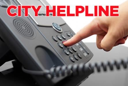 City launches new helpline
