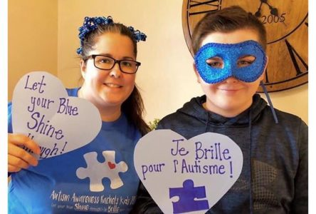 Let your blue shine through for World Autism Awareness Day