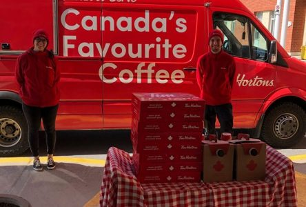 Tim Hortons shows support to Glen Stor Dun Lodge