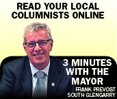 Three minutes with the Mayor of South Glengarry