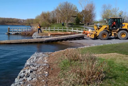 City installing new docks