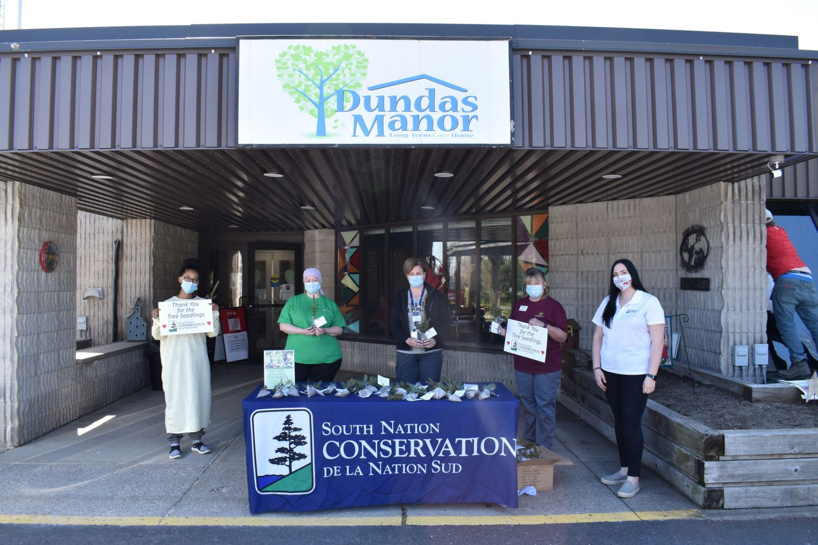 SNC donates trees to frontline workers in SD&G